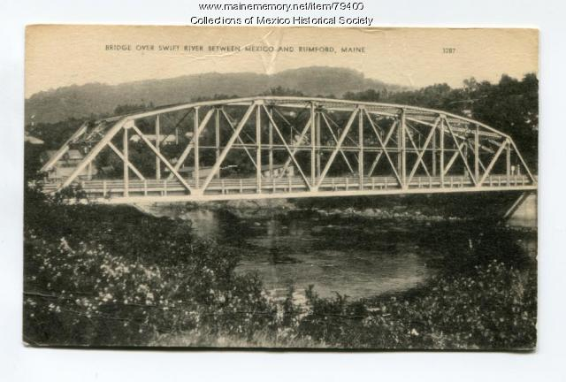 Bridge over Swift River, 1901