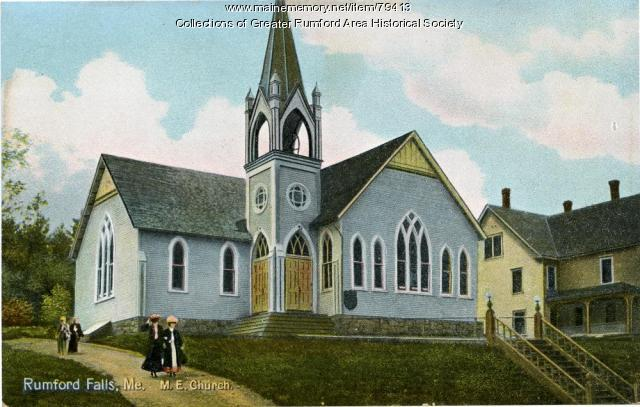 The Methodist Church, Rumford, ca. 1906
