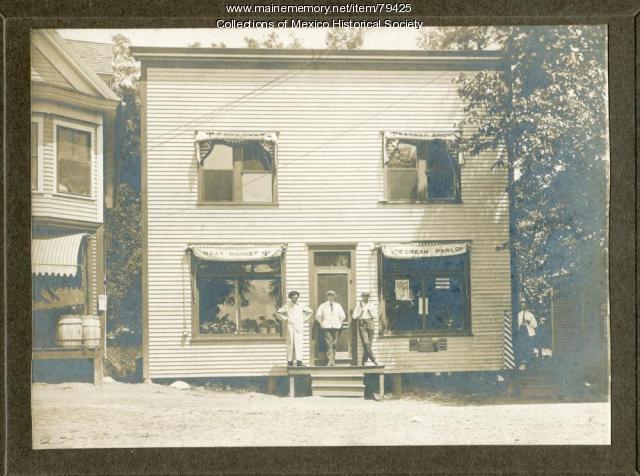 Village Shop, Mexico, ca. 1900
