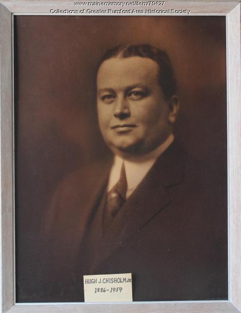 Hugh J. Chisholm Jr., ca. 1912