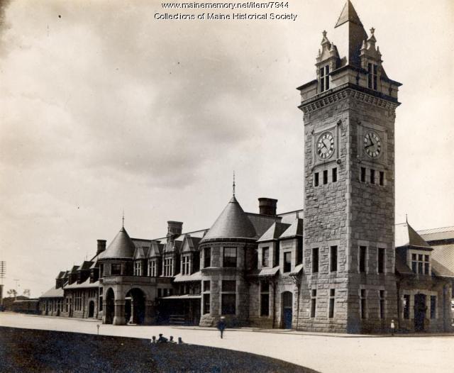 Union Station, Portland, ca. 1895