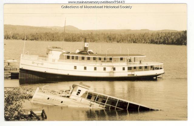 The Katahdin and the Twilight,  Moosehead Lake, ca. 1940