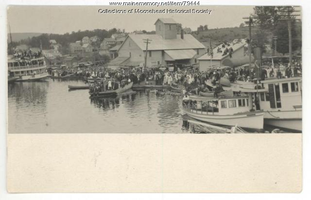 East Cove, Moosehead Lake,  ca. 1930
