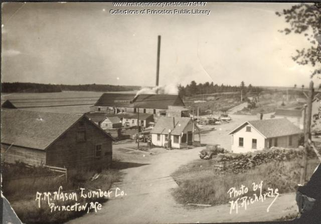 A.M. Nason Lumber Company, Princeton, ca. 1940