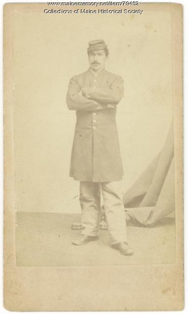 John W. Day, 14th Maine, ca. 1863