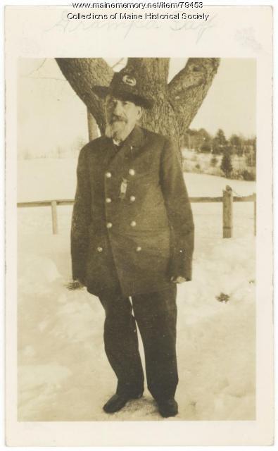 John W. Day, Civil War veteran, ca. 1900