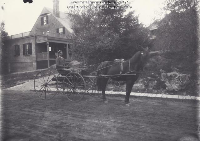Harbourside Inn, Northeast Harbor, ca. 1900