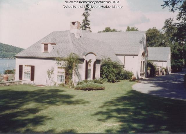 Driftwood Cottage, Sargent Drive, Northeast Harbor, ca. 1980
