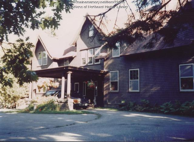 Glengarnock Cottage, Northeast Harbor, ca. 1980
