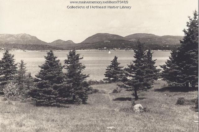 Mt. Desert from Sutton's Island, ca. 1900