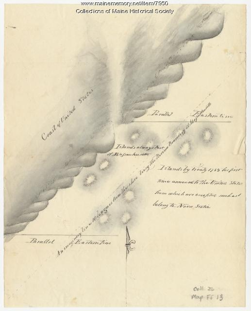 Islands in Passamaquoddy Bay, ca. 1800