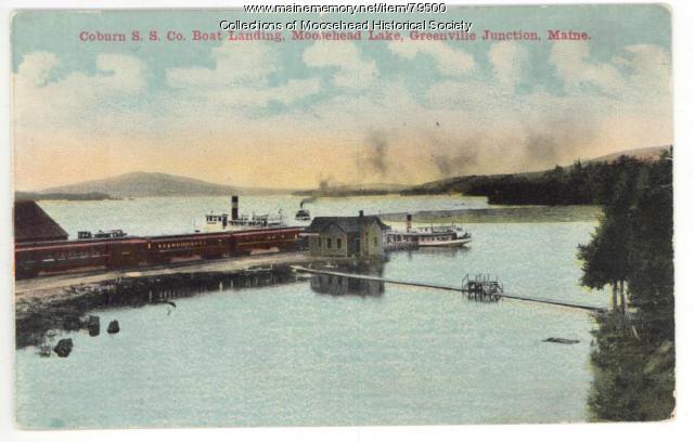 Steamboat Wharf, Greenville Jct., ca. 1900