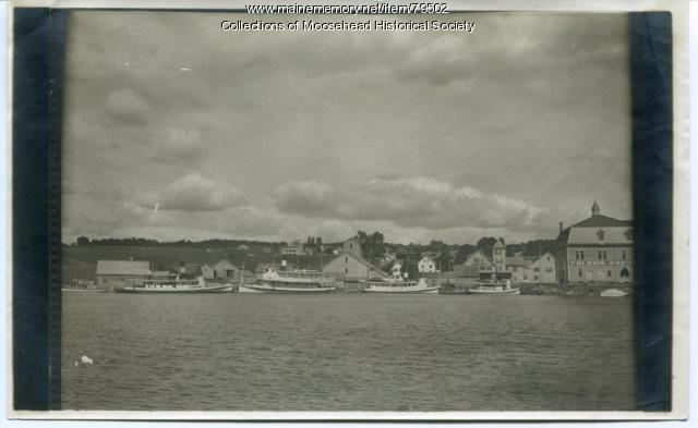 Steamboats, Moosehead Lake, ca. 1910