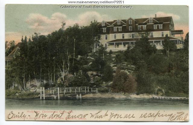 First Holly Inn, Christmas Cove, 1906