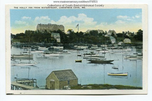 Christmas Cove, the Holly Inn and the Boston Yacht Club, ca 1917