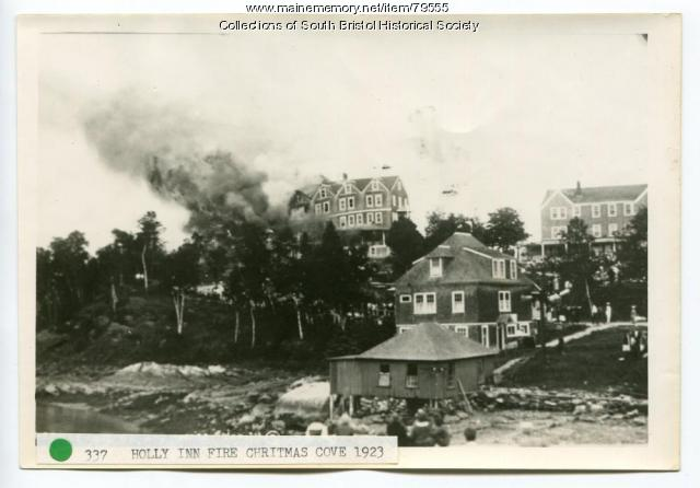 The Second Holly Inn Fire, Christmas Cove, 1923