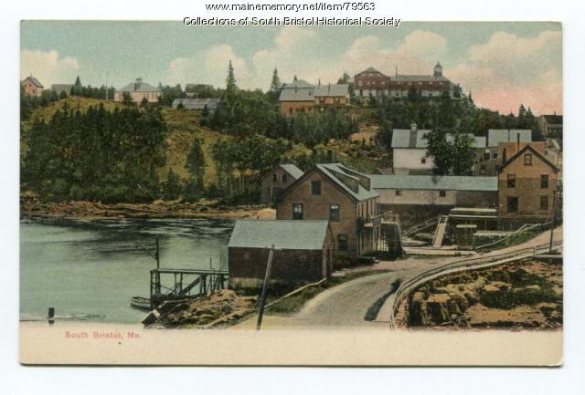 The Summit House Hotel in South Bristol Village, ca. 1910