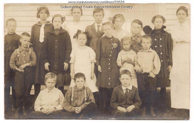 S Road School class, Bristol, 1914
