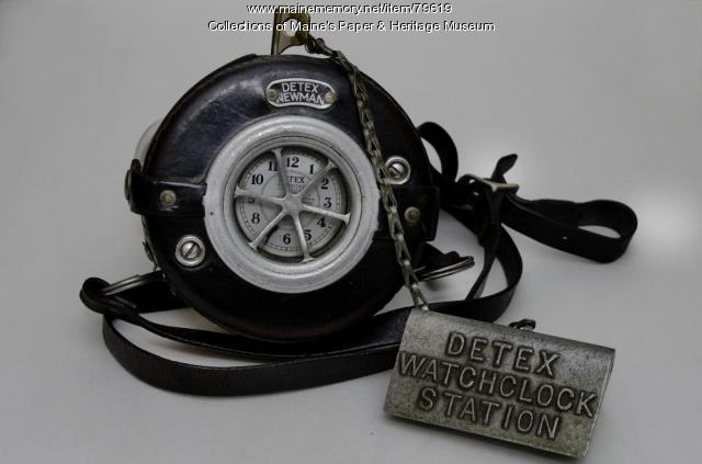 Detex Watchclock and Station, 1927