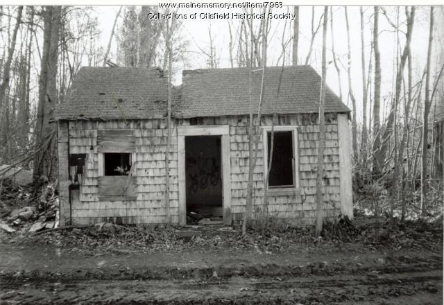 Wardwellville Schoolhouse, Otisfield, 1998