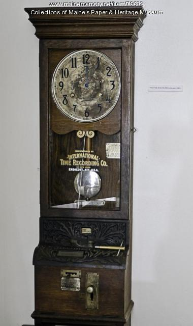 Time Clock, ca. 1910