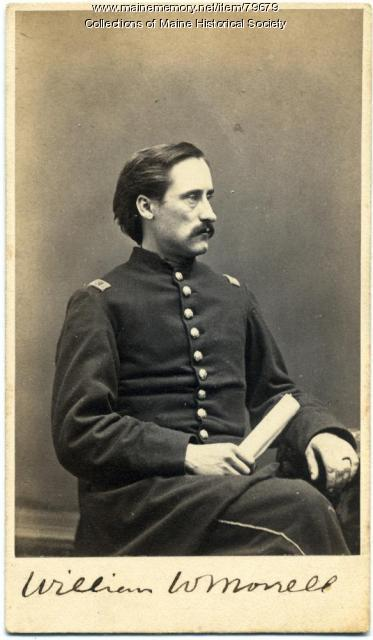 William W. Morrell, 20th Maine, ca. 1863