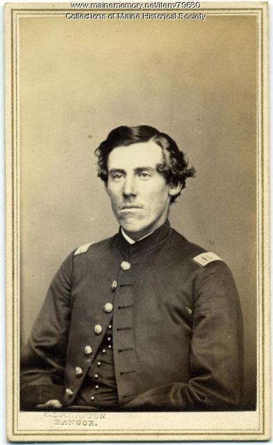 Capt. Walter G. Morrill, 20th Maine, ca. 1863