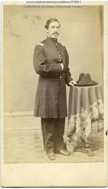 Capt. Joseph F. Land, 20th Maine, ca. 1863