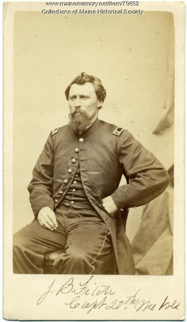 Capt. Joseph B. Fitch, 20th Maine