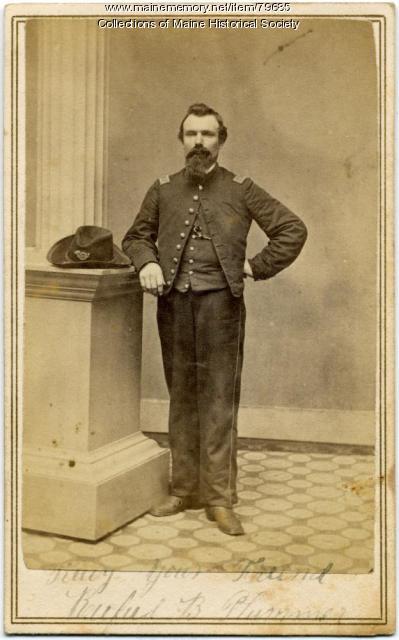 Capt. Rufus B. Plummer, 20th Maine, ca. 1862