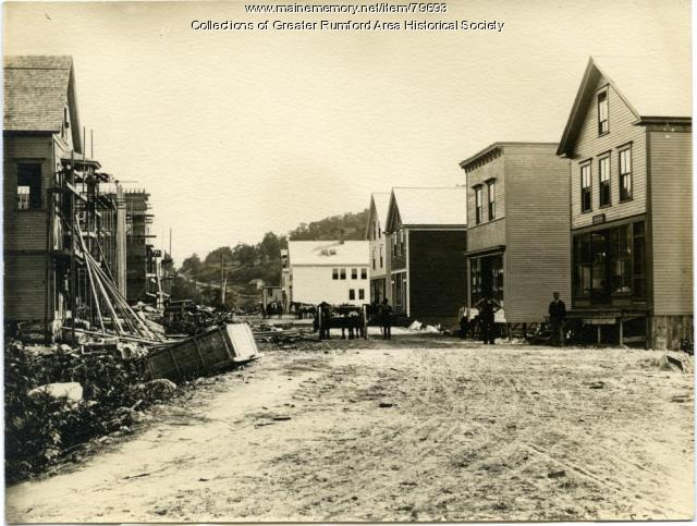 Congress Street looking South, Rumford Falls, ca. 1893