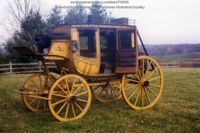 Abbot-Downing Concord Stagecoach, ca. 1882