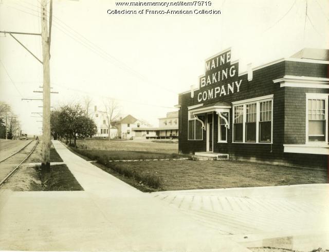 Maine Baking Company Store, Auburn, 1928