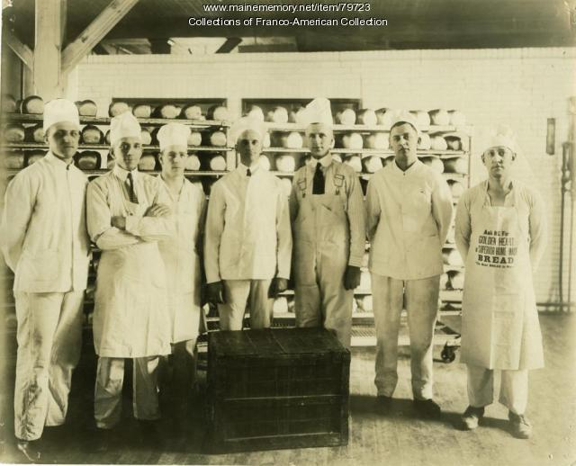 Maine Baking Company Employees, Auburn, 1928
