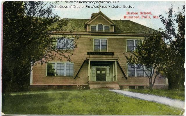 Bisbee School, Rumford, ca. 1912