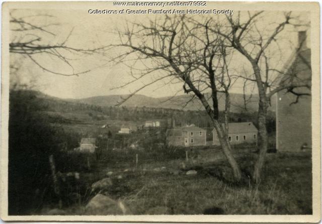 Woodrowville School, Rumford Maine ca. 1920