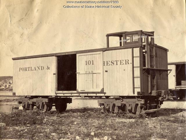 Portland & Rochester Boxcar