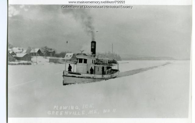 Steamboat Louisa, Moosehead Lake, ca. 1900
