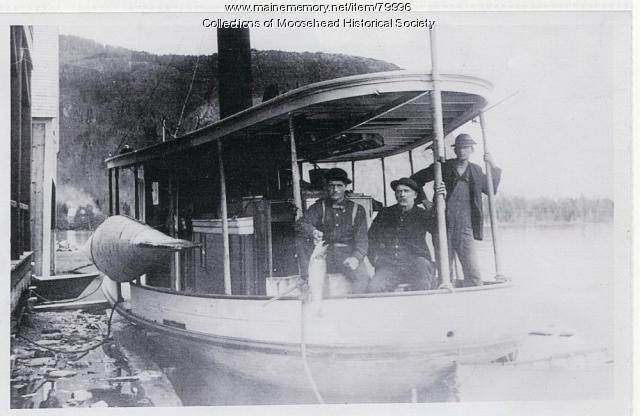 Steamboat Ripple at Kineo Dock, Moosehead Lake, ca. 1880