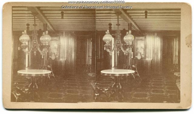 Steamboat Governor Coburn Interior, Greenville, ca. 1870