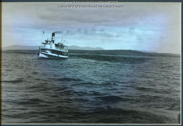 Moosehead II Steamboat, Moosehead Lake, ca. 1914