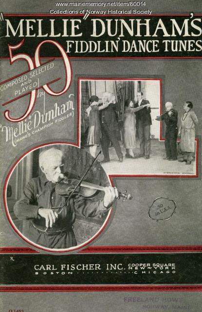 Mellie Dunham's 'Fiddlin' Dance Tunes,' New York, 1926