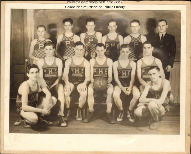 Basketball Team, Princeton, 1941