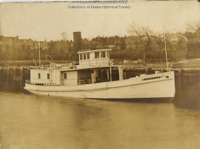 Oyster dredger Miranda, ca. 1910