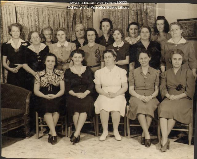 Red Cross Ladies, Princeton, 1941