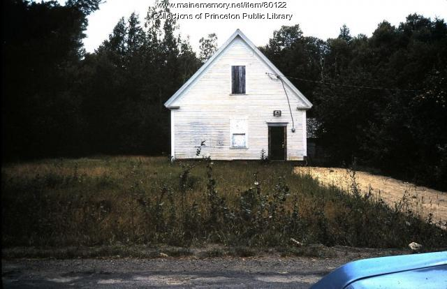 Dixie School, Big Lake Twp, 1974