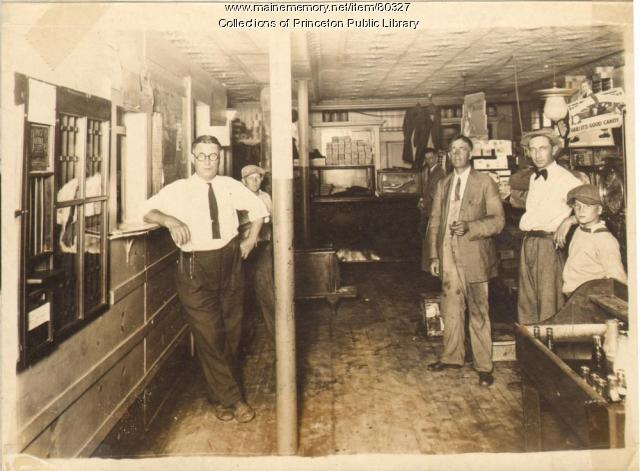 McCannell Store and Post Office, Princeton, ca. 1930