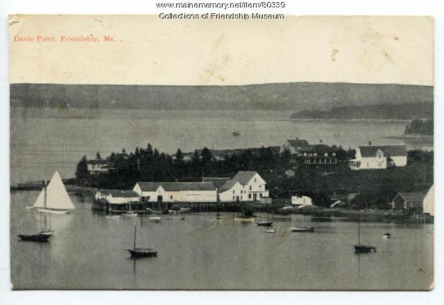 Davis Point, Friendship, ca.1920