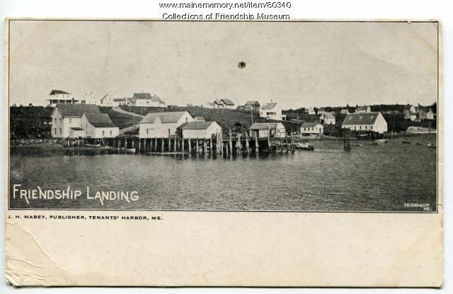 Jameson & Wotton Wharf, Friendship, ca. 1905