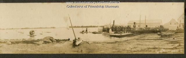 Panorama of Friendship harbor, ca.1910